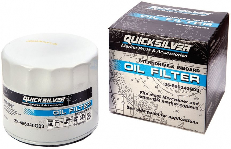 Original Quicksilver/Mercruiser Ölfilter 35-866340Q03